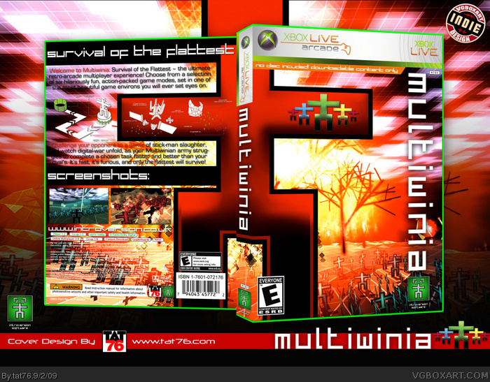 Multiwinia box art cover