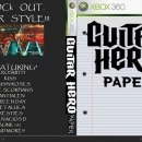 Guitar Hero Paper Box Art Cover