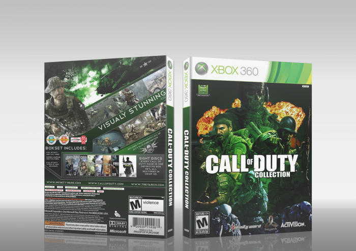 Call of Duty :  Complete Collection box art cover