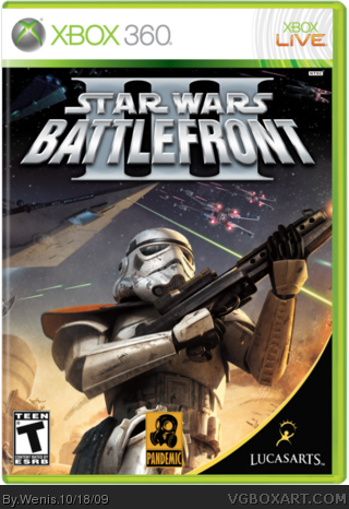 Xbox 360 » Star Wars Battlefront III Box Cover