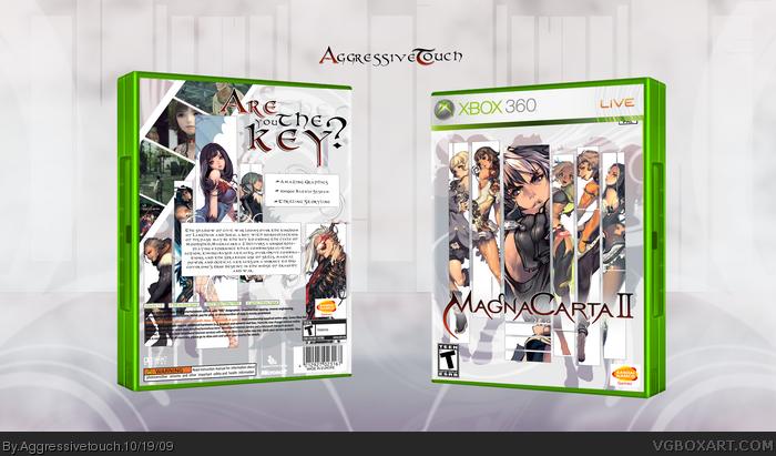 Magna Carta 2 Xbox 360 Box Art Cover by Aggressivetouch
