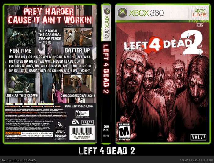 Left 4 Dead 2 box art cover