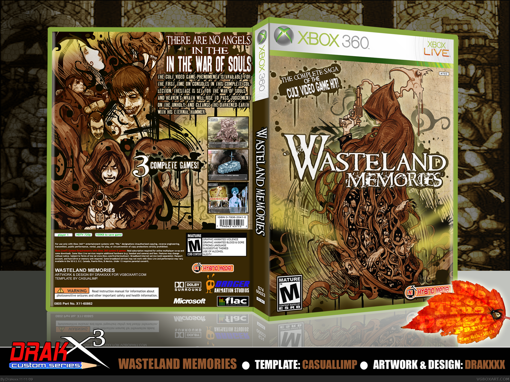 Wasteland Memories box cover