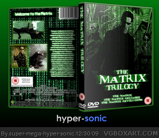 The Matrix Trilogy box art cover