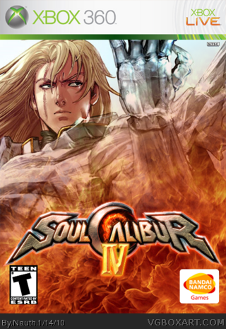 Soul Calibur IV box cover