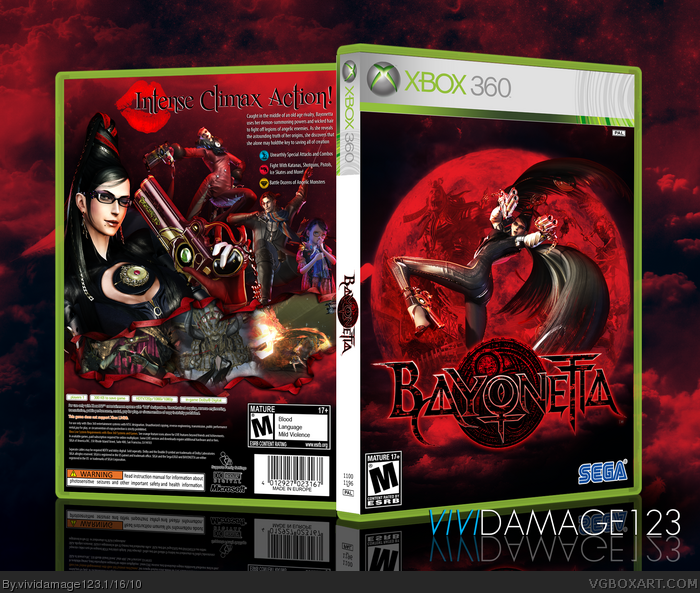 Bayonetta box art cover