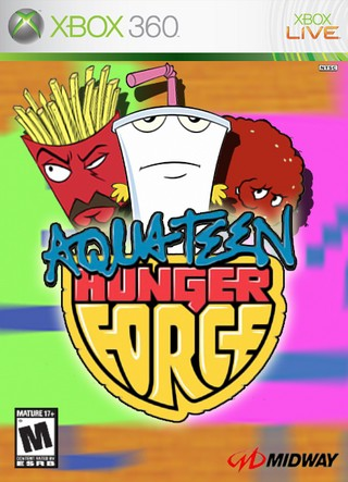 Aqua Teen Hunger Force box cover