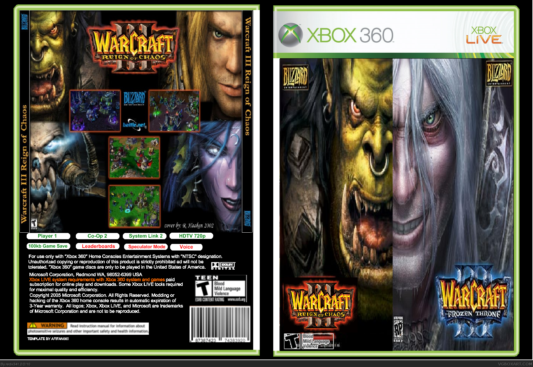 WarCraft Series box cover