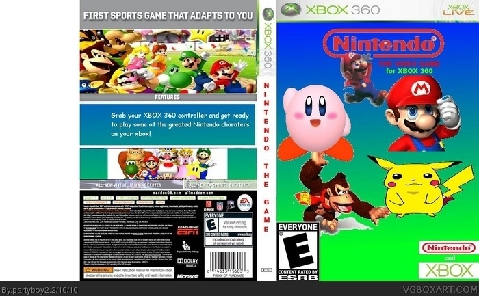 Nintendo The Video Game box art cover