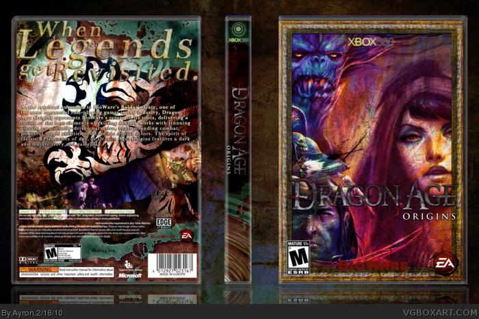 Xbox 360 » Dragon Age: Origins Box Cover