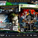 Batman: Arkham Asylum Game of the Year Edition Box Art Cover