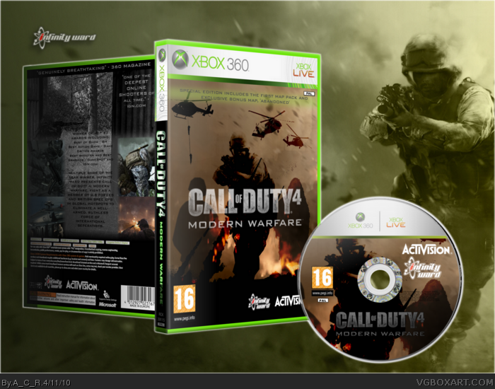 download call of duty 4 modern warfare pc completo iso