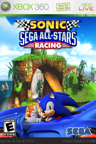 Sonic & Sega All-Star Racing box cover
