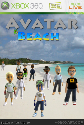 Avatar Beach box cover