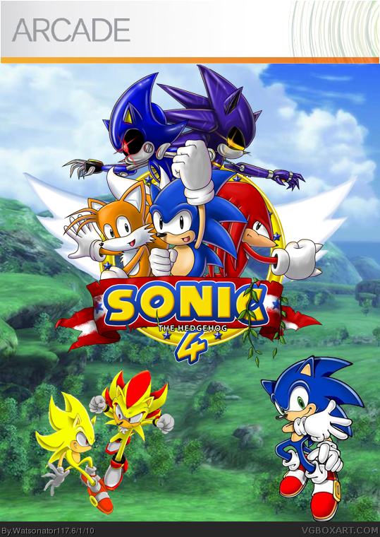 Xbox Live Logo Png sonic the hedgehog 4 X...