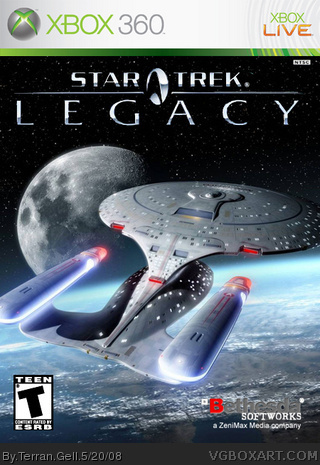 Star Trek Legacy box cover