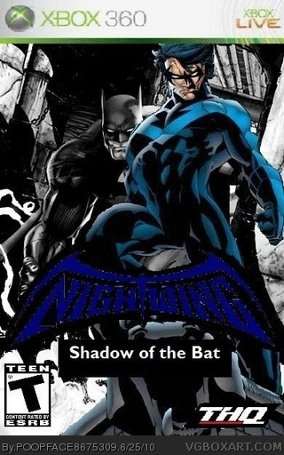 Nightwing: Shadow of the Bat box cover