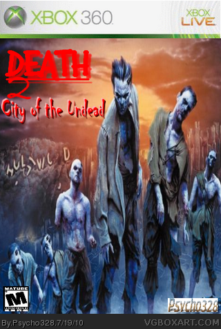 DEATH 2: City of the Undead box cover