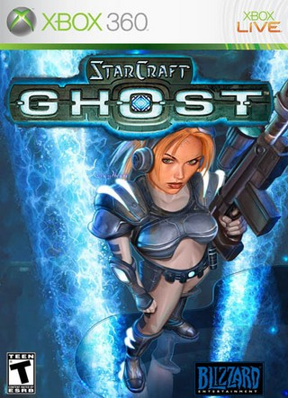 StarCraft: Ghost box cover