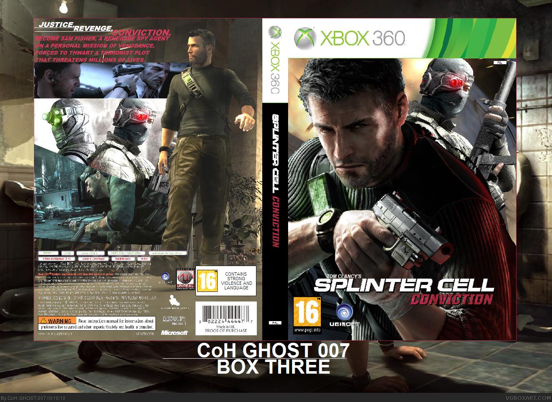 Splinter Cell Conviction Xbox 360 Box Art Cover By Coh