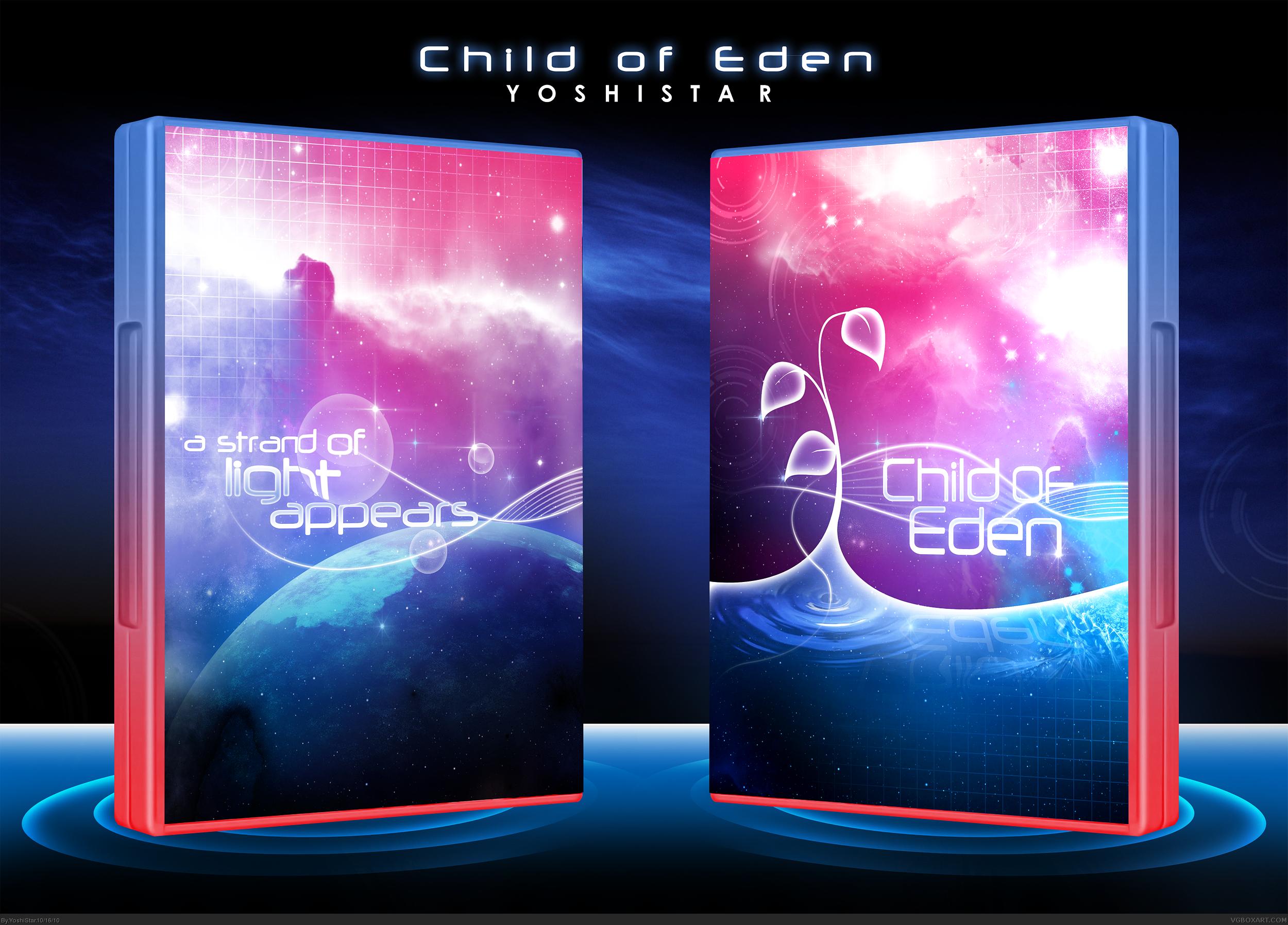 Children Of Eden Book Cover ~ Child of eden xbox box art cover by yoshistar