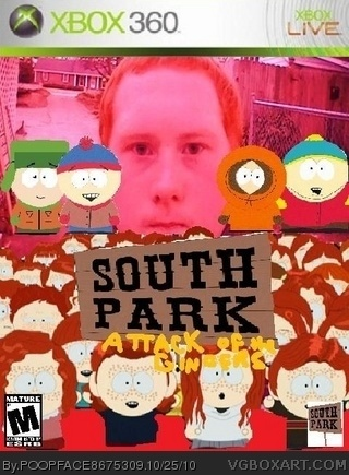 Genesis 38 8 >> South Park: Attack of the Gingers Xbox 360 Box Art Cover ...