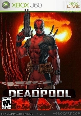 Deadpool box cover