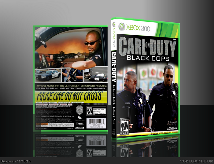 Carl On Duty: Black Cops box art cover