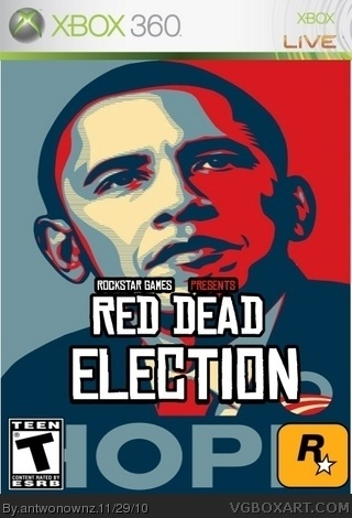 Red Dead Election box cover