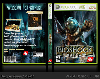 BioShock box cover