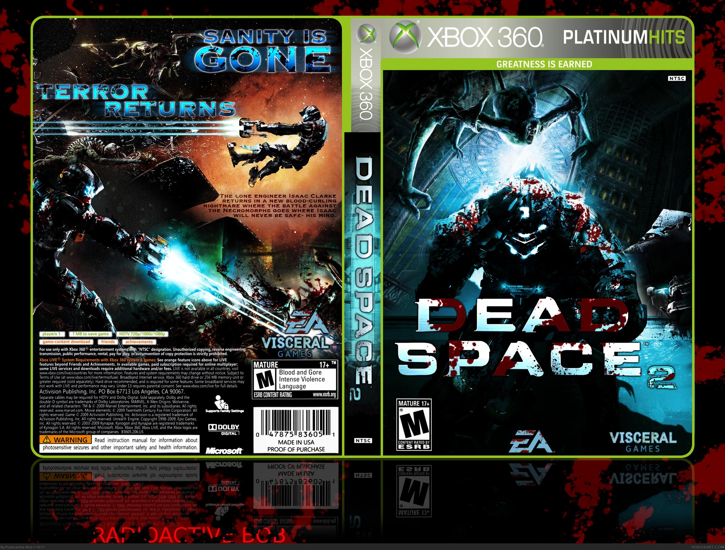 dead space 2 xbox 360 box art cover by radioactive bob rh vgboxart com Dead Space Cheats-PC Dead Space PC Controls