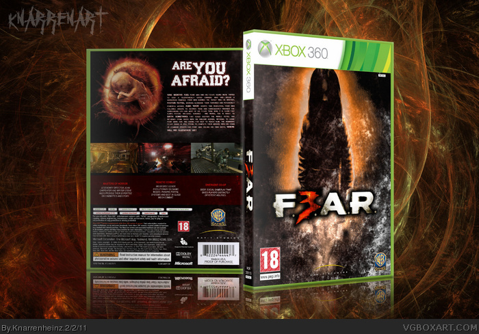F.3.A.R box art cover