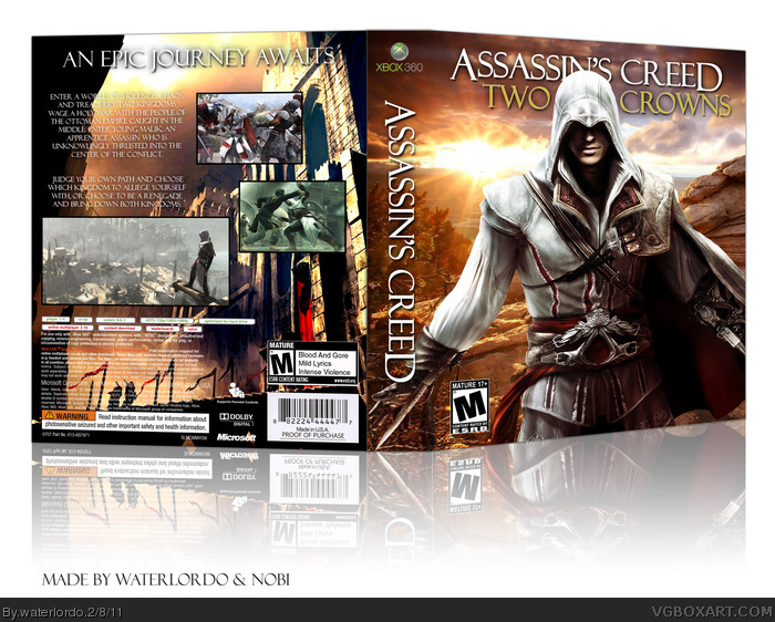 Assassin's Creed: Two Crowns box art cover