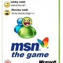 MSN:The Game Box Art Cover