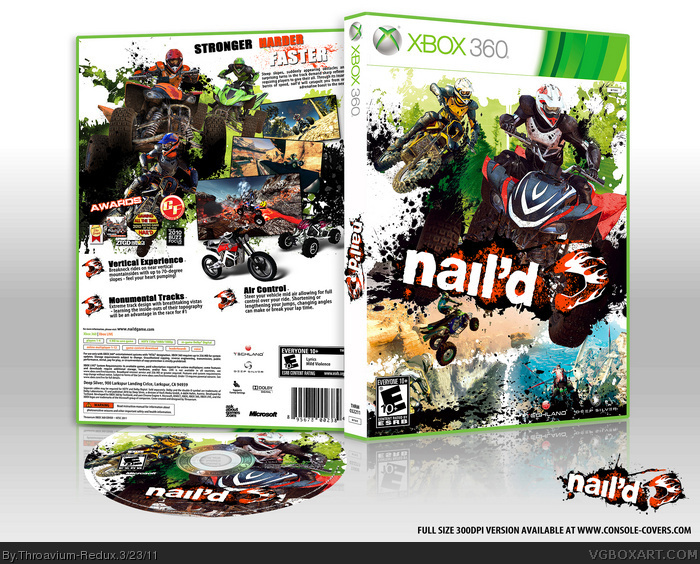 Nail'd box art cover