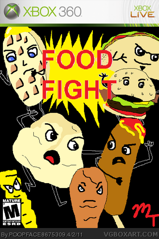 Food Fight box cover