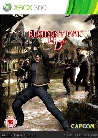 Xbox 360 » Resident Evil 4 HD Box Cover