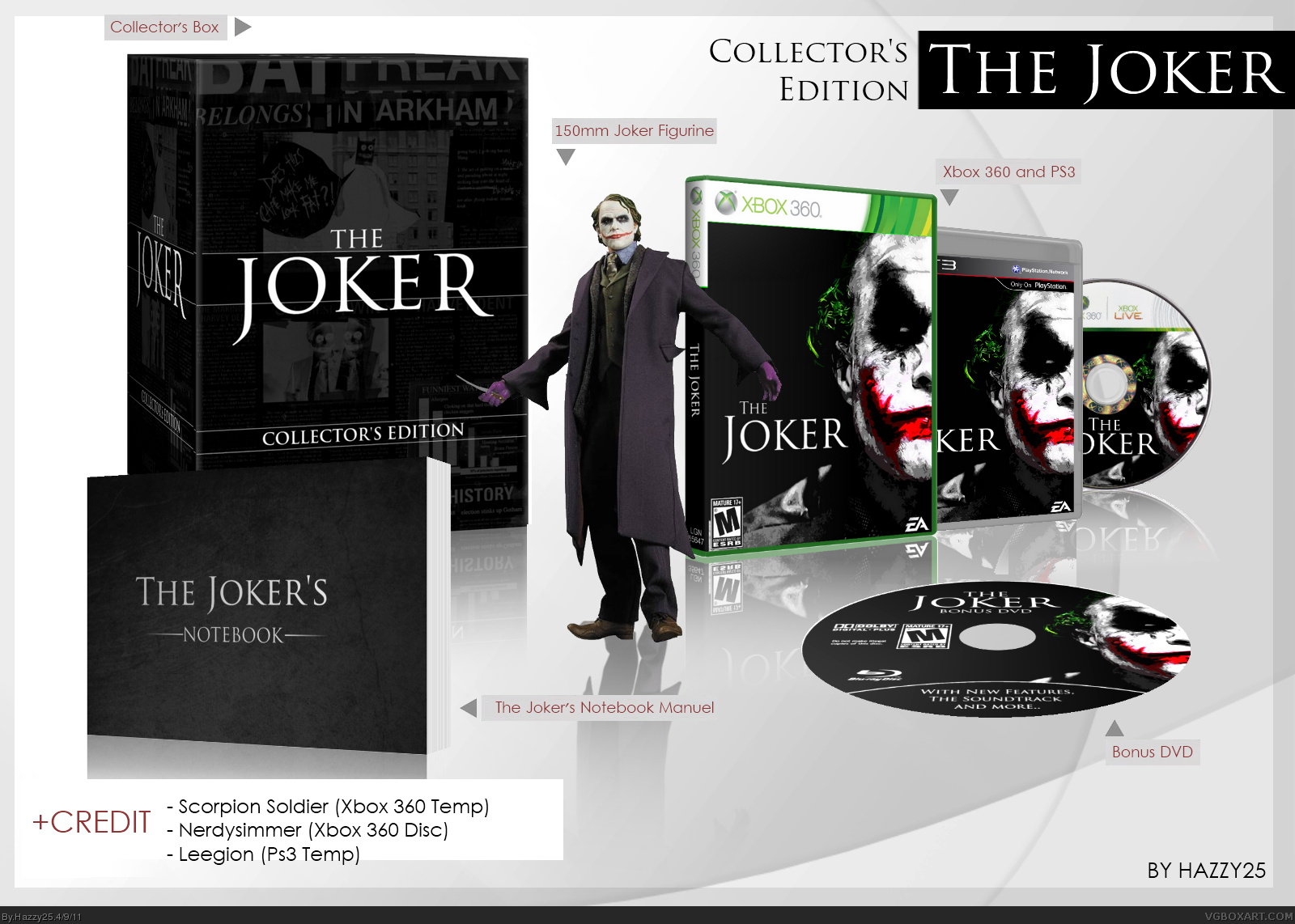 The Joker Collector's Edition box cover