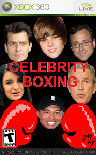 Celebrity Boxing box cover