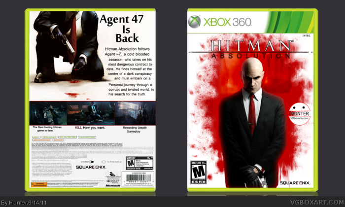 Hitman Absolution Fuse Box : Hitman absolution xbox box art cover by hunter