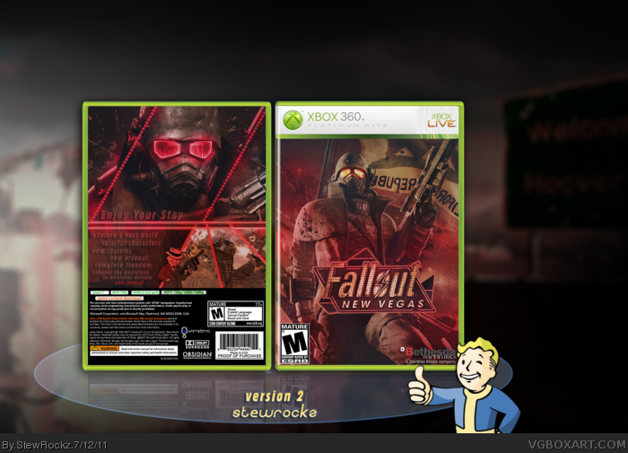Xbox 360 » Fallout: New Vegas Box Cover