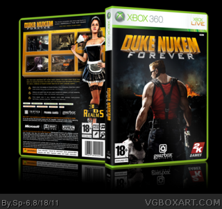 Xbox 360 » Duke Nukem Forever Box Cover