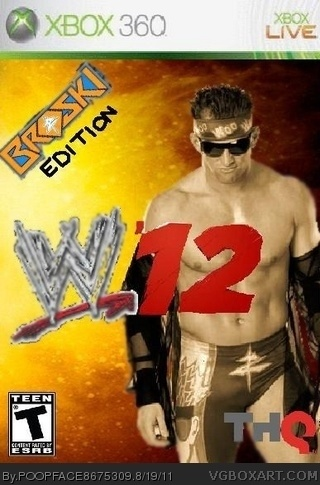 WWE 12 box cover