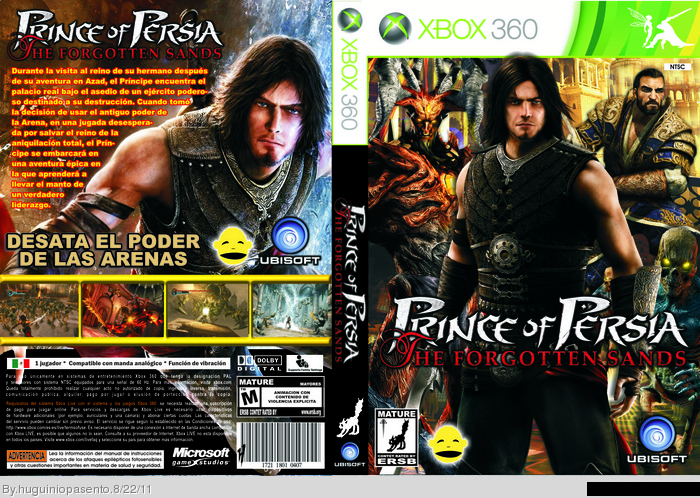 prince of persia the forgotten sands xbox 360 ign tattoo design bild. Black Bedroom Furniture Sets. Home Design Ideas