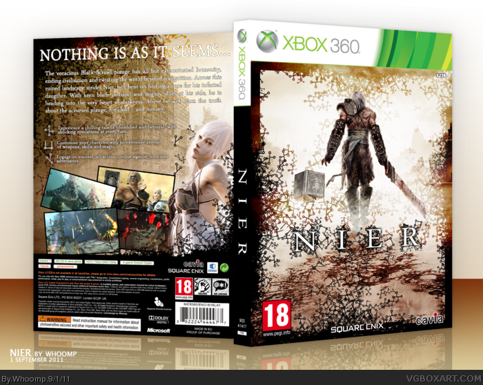 Nier Replicant (PS3), Nier Gestalt (Xbox 360) screenshots ...