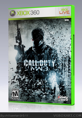 Call Of Duty: Modern Warfare 3 box cover