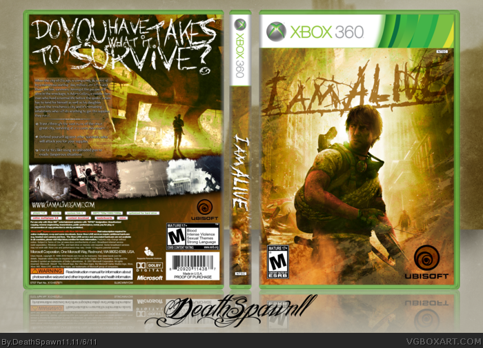 Xbox 360 » I Am Alive Box Cover