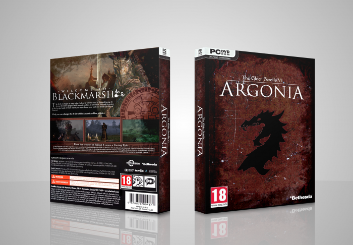 The Elder Scrolls VI: Argonia box art cover