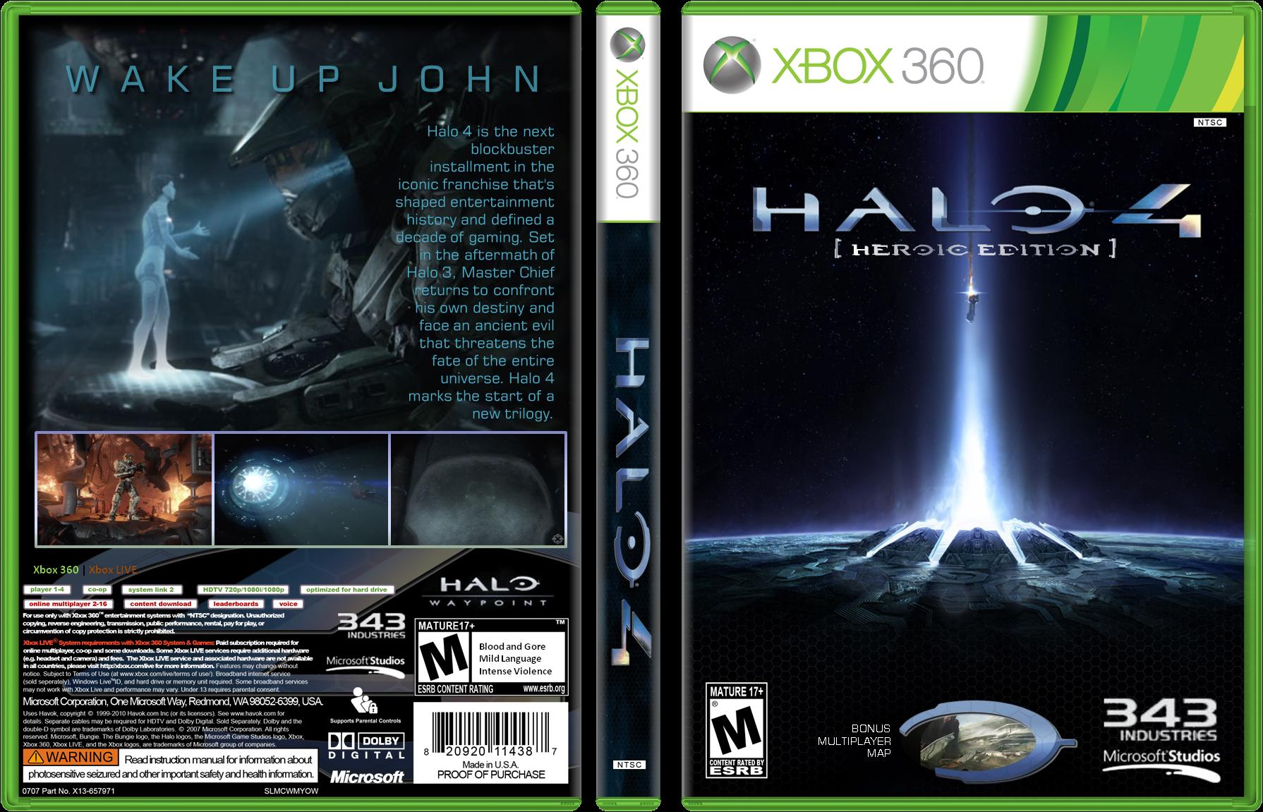 viewing full size halo 4 box cover rh vgboxart com Halo Cards Halo Design