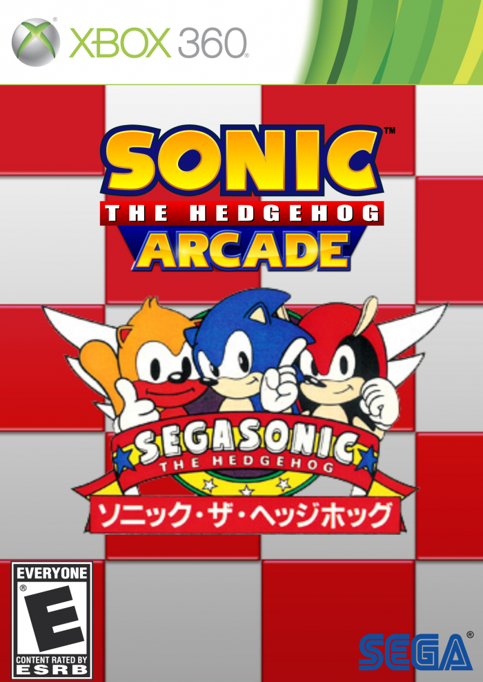 Sonic the Hedgehog Arcade - SEGASonic box art cover